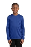 Youth Long Sleeve Competitor Tee True Royal Thumbnail