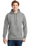 Ultimate Cotton Pullover Hooded Sweatshirt Light Steel Thumbnail