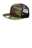 New Era Original Fit Snapback Trucker Cap Camo with Black Thumbnail