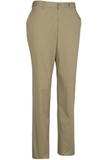 Edwards Men's Flat Front Slim Chino Pant Tan Thumbnail
