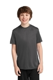 Youth Essential Performance Tee Charcoal Thumbnail