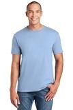 Softstyle Ring Spun Cotton T-shirt Light Blue Thumbnail
