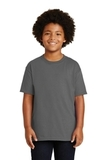 Youth Ultra Cotton 100 Cotton T-shirt Charcoal Thumbnail