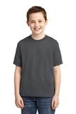 Youth 50/50 Cotton / Poly T-shirt Charcoal Grey Thumbnail