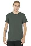 BELLACANVAS Unisex Jersey Short Sleeve Tee Military Green Thumbnail