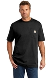 Carhartt Workwear Pocket Short Sleeve T-Shirt Black Thumbnail