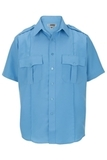 Class A 100 Polyester Short Sleeve Shirt Blue Thumbnail