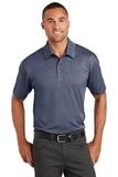 Trace Heather Polo Shirt True Navy Heather Thumbnail