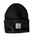 Carhartt Acrylic Watch Hat Black Thumbnail