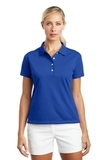 Women's Nike Golf Shirt Tech Basic Dri-FIT Polo Varsity Royal Thumbnail