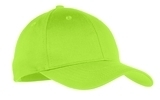 Youth 6-panel Twill Cap Lime Thumbnail