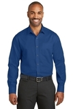 Red House Slim Fit NonIron Twill Shirt Blue Horizon Thumbnail