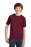 Youth Essential T-shirt Cardinal Thumbnail