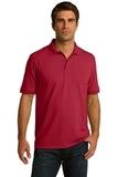 Port Company Tall 5.5-ounce Jersey Knit Polo Red Thumbnail