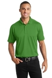 Diamond Jacquard Polo Vine Green Thumbnail