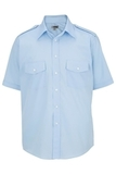 Men's Short-sleeve Navigator Shirt Blue Thumbnail