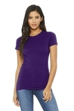 BELLACANVAS Women's The Favorite Tee Team Purple Thumbnail