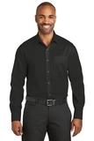 Red House Slim Fit NonIron Twill Shirt Black Thumbnail