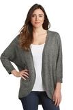 Women's Marled Cocoon Sweater Warm Grey Marl Thumbnail