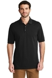 Tall EZ-Cotton Polo Black Thumbnail