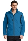 BackBlock Soft Shell Jacket Imperial Blue with Black Thumbnail