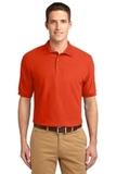 Extended Size Silk Touch Polo Shirt Orange Thumbnail