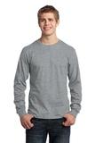 Long Sleeve 5.4-oz. 100 Cotton T-shirt Athletic Heather Thumbnail