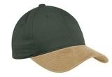 2-tone Brushed Twill Cap Loden with Khaki Thumbnail