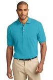 100% Cotton Polo Shirt Turquoise Thumbnail