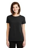 Women's Ultra Cotton 100 Cotton T-shirt Black Thumbnail