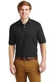Spotshield 5.6-ounce Jersey Knit Polo Shirt Black Thumbnail