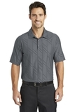 Nike Golf Dri-FIT Embossed Polo Dark Grey Thumbnail