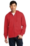 V.I.T.Fleece Full-Zip Hoodie Classic Red Thumbnail