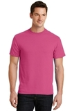 50/50 Cotton / Poly T-shirt Sangria Thumbnail