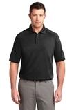 Dry Zone Ottoman Polo Shirt Black Thumbnail