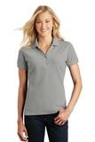 Women's Eddie Bauer Cotton Pique Polo Chrome Thumbnail