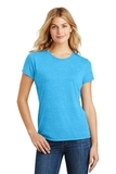 Women's Made Perfect Tri Crew Tee Turquoise Frost Thumbnail