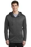 Nike Golf Therma-FIT Full-Zip Fleece Hoodie Anthracite Thumbnail