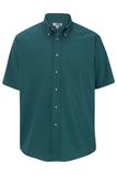 Men's Button Down Poplin Shirt SS Teal Thumbnail