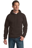 Tall Ultimate Pullover Hooded Sweatshirt Dark Chocolate Brown Thumbnail