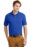 Ultra Blend 5.6-ounce Jersey Knit Sport Shirt Royal Thumbnail