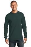 Essential Long Sleeve T-shirt Dark Green Thumbnail