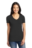 Women's Concept Stretch V-neck Tee Black Thumbnail