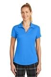 Women's Nike Golf Dri-FIT Legacy Polo Light Photo Blue Thumbnail
