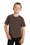 Youth Fan Favorite Tee Dark Chocolate Brown Thumbnail