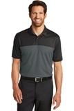 Nike Golf DriFIT Colorblock Micro Pique Polo Black with Anthracite Thumbnail