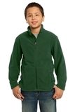 Youth Value Fleece Jacket Forest Green Thumbnail