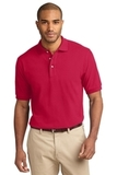 100% Cotton Polo Shirt Red Thumbnail