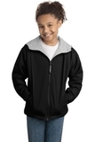 Youth Team Jacket Black with Light Oxford Thumbnail