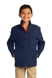 Youth Core Soft Shell Jacket Dress Blue Navy Thumbnail